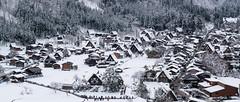 Shirakawa-g (dawvon) Tags: travel winter mountain snow nature japan architecture season landscape japanese asia gifu historicalbuilding shirakawa minka honshu  gifuken   shirakawavillage  gifuprefecture  chbu gasshzukuri shirakawag chburegion shirakawamura  nodistrict nogun