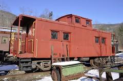 Phoenicia, New York (3 of 24) (Bob McGilvray Jr.) Tags: ny newyork train display steel tracks caboose cupola static phoenicia empirestaterailroadmuseum