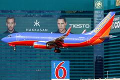 Southwest Airlines | Boeing 737-700 | N968WN | Las Vegas McCarran (Dennis HKG) Tags: las southwest plane canon airplane airport lasvegas d aircraft boeing klas 737 southwestairlines planespotting wn swa boeing737 737700 100400 boeing737700 n968wn