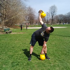 Kettlebell Windmill Exercise (personaltrainertoronto) Tags: kettlebell windmills exercise personal trainer fitness weighttraining workout strength muscle fit