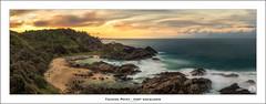 Tacking Point - Port Macquarie (John_Armytage) Tags: longexposure sunset panorama beach clouds rocks pano panoramic portmacquarie lighthousebeach midnorthcoast tackingpointlighthouse johnarmytage nisifiltersaustralia