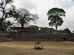 "Copan Ruinas: la Place des Jaguars <a style=""margin-left:10px; font-size:0.8em;"" href=""http://www.flickr.com/photos/127723101@N04/26484029211/"" target=""_blank"">@flickr</a>"