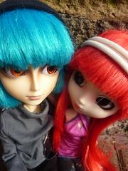 Joo and Berry (.PoisonedDeath.) Tags: berry couple doll dolls group planning groove pullip wonka willy joao jun joo alte obitsu taeyang rewigged rechipped