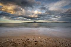 Sleeping Giant (duncan_mclean) Tags: newzealand seascape beach landscape island waves auckland devonport rangitoto cheltenhambeach leefilters littlestopper
