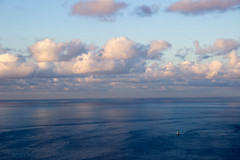 mar  y cielo (Mirenmil) Tags: ocean sea clouds mar sailingboat