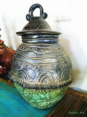 Claudia's Photography http://josephclaudia.wix.com/holyland-art (claudia.joseph16) Tags: art home ceramic artist african pot wheeled jar pottery decor stylish sculpted nubian nigerian ethiopian