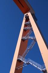 Stairway to heaven (Anders Bromell) Tags: eriksberg grantycrane bockkran fotosondag iskyn fs160424