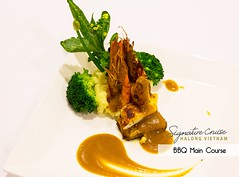SRC - Food & Meal Special Decoration (7) (Signature Royal Cruise) Tags: travel bar dinner restaurant hotel boat cabin drink room vietnam meal dinning suites halongbay foodbeverage vietnamtour luxurycruise asiatour luxuryboat halongtour luxuryjunk signaturecruises signatureroyalcruise
