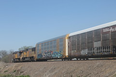 53250 (richiekennedy56) Tags: usa unitedstates kansas unionpacific perry sd70m es44ac up4201 railphotos jeffersoncountyks up7370