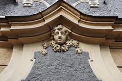 p. 90/III, U Luickho semine 13, Praha, Mal Strana (MONUDET) Tags: maska msa