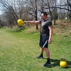 Kettlebell Swings (personaltrainertoronto) Tags: kettlebell swing fitness exercise workout muscle athlete training fit sport