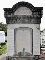 New Orleans - Kissgen Family Grave (Drriss & Marrionn) Tags: usa cemetery grave graveyard concrete outdoor neworleans headstone tomb graves funeral mausoleum granite sarcophagus burial marble tombs lafayettecemetery deceased gravefield vaults crypts neworleansla