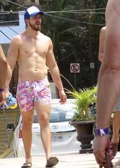 IMG_0856 (danimaniacs) Tags: shirtless man sexy guy hat beard mexico muscle muscular hunk cap puertovallarta abs stud scruff