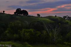 in your back (prinz59prince) Tags: trees sunset sky colors clouds landscape scenery philippines hills mindanao breauty