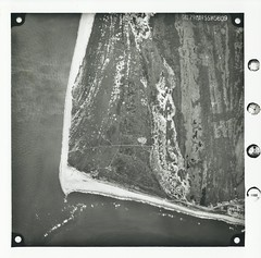 capepoint   29MAR1955 (CapeHatterasNPS) Tags: capehatteras aerialphotograph hydrology capehatterasnationalseashore