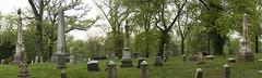 (Jenn Sarti) Tags: cemetery headstones monuments diffusedlight