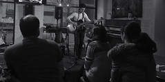 Cafe Blanca Open Mic (Sherlock77 (James)) Tags: people musician man calgary guitar crowd openmic