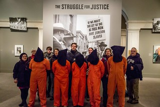 Witness Against Torture at the Struggle for Justice Exhibit
