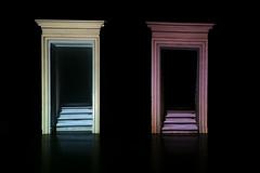 porte astrali (daniel gigliotti2012) Tags: scale fuji arte sala ombre porte palazzo luce catanzaro artisti 18mm illuminazione xf contemporanea installazioni portali artistiche xpro1 fazari xf18mm