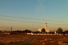 Mosque at Dusk (prasad.om) Tags: mountains tourism landscape interiors day desert sightseeing trips roads oman wadi khalid muscat sinkhole bani tiwi shab quriyat sharqya