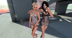 Iza and CC (CC Roar) Tags: photography secondlife scifi sciencefiction fi sci holographic virtualworld secondlifefashion secondlifephotography secondlifebeauty