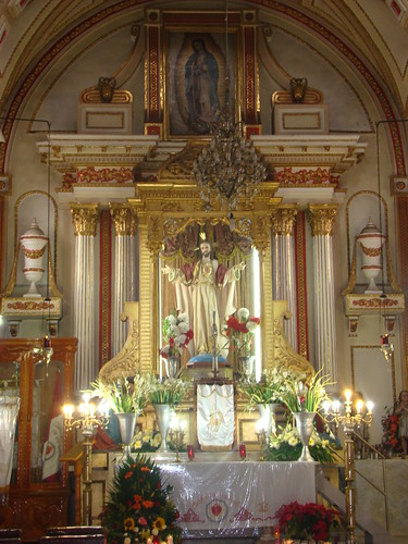 Capilla del Sagrario, Parroquia de San Miguel, Huejotzingo, Pue.