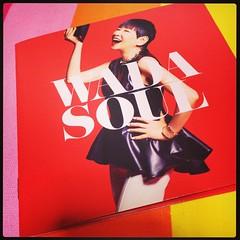 アッコの新しいアルバム買ってきた! いくつになってもかっこいい!! #和田アキ子