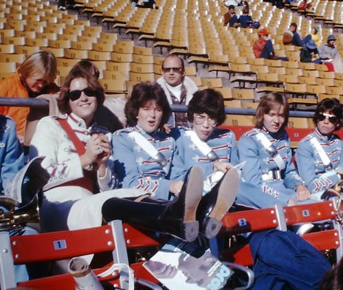 Vintage Found Photo - Jets v. Broncos 1976