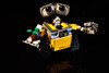 LEGO-21303-WALL.E (jtatodd) Tags: mirrorless afol continuouslighting reflection offcameralighting blackbackground yellow movie character fun miniture robot walle legophotography lego ilce7 sonya7 disney pixar 10faves studiolighting studioset