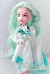 Mint_Laura-29 (lucylacri) Tags: monster high doll sweet ooak mint vanilla mh mattel repaint reroot draculaura
