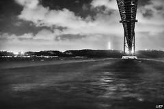 Lisboa River (Ghoul-Seine) Tags: world voyage city travel blackandwhite white black color portugal landscape lisboa sony journey rx100 ghoulseine ramjanally sonydscrx100