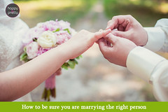 How to be sure you are marrying the right person (alanbroaderic6) Tags: family wedding friends sex women husband spouse tolerance relationship dating divorce wife relationships matchmakers lovemarriage sexualpreferences sexualfantasies separations premaritalsex divorces eatinghabits financialissues lifetimecommitment