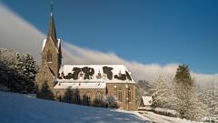 Liebfrauen Church Westerburg, Germany (Springer@WW) Tags: schnee winter snow church germany deutschland europa sony kirche tageslicht rheinland pfalz langzeitbelichtung westerburg alpha7 longeexposure eurpe dayligzt
