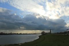 IMG_9304 (Mr. Blue-Sky25) Tags: road sunset sun holland nature water netherlands grass clouds zonsondergang utrecht toren nederland natuur wolken motorbike motorcycle gras motor dijk zon dike weg lek ijsselstein gerbrandy motorfiets