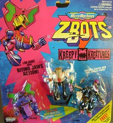 Z-Bots Series 4 Set 4 (Z-Bots collector) Tags: toys robot space micro radical machines void grrr transform armed voids zbot galoob kreepy zbots kreatures bitebots lokjawz