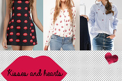 S. Valentine's Day Outfit 2 - kisses and hearts (New York can wait...) Tags: love fashion shirt outfit shoes skirt valentine ring special date lovely tulle valentinesday blouses accessorize ootd