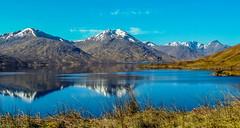 Reflections on Loch Quoich (scottishkennyg) Tags: knoydart lochquoich sgurrnaciche sgurrmor