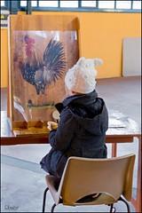 Sens 89 : jeux de bois sous la halle (GK Sens-Yonne) Tags: table sens tableau enfant bourgogne halle chaise bois coq jeux yonne jeudebois