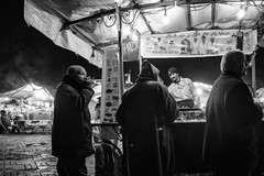 N 72 (enzo marcantonio) Tags: africa street leica city travel people blackandwhite bw food night work square outside holidays place outdoor streetphotography eat enzo marocco marrakech souk streetphoto q streetfood summilux ethnicity jamaaelfna marcantonio leicaq enzomarcantonio
