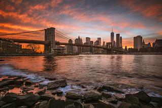 Colors over Manhattan