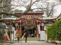 P1070730Lr (photo_tokyo) Tags: japan tokyo jp  shinagawa      oosaki irugishrine