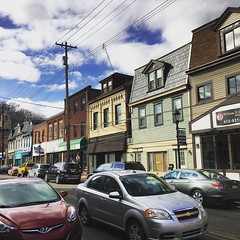 Milling around in Millvale #millvale #pennsylvania #pittsburgh #houses #street (chicabrandita) Tags: square squareformat lark iphoneography instagramapp uploaded:by=instagram