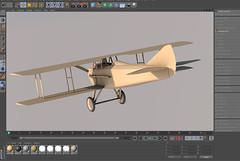 SPADXIII-WIP 20a (StratoArt) Tags: history 3d aircraft aviation military wwi cinema4d warbird biplane warplane spad xiii