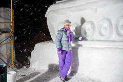 WC all nighter S 201602030107 (Michigan Tech) Tags: carnival winter snow statue mi michigan houghton wintercarnival mtu michigantech 2016 snowstatue michigantechnologicaluniversity snowstatues