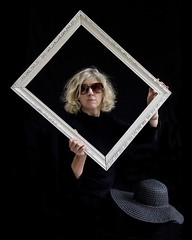 ... framed ... (jane64pics) Tags: selfportrait hat sunglasses self framed naturallight frame he badhairday gcc pictureframe windowlight selfie week8 naturallightphotography naturallightportrait greystonescameraclub 52weeksof2016 janefriel2016 inthepropbox
