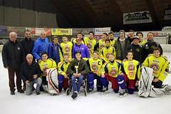 U16-Eishockeyteam des EHC Althofen