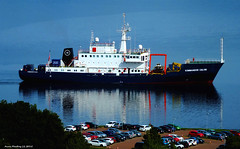 Scotland Greenock research and exploration ship Kommander Calum 17 August 2015 by Anne MacKay (Anne MacKay images of interest & wonder) Tags: by river anne scotland clyde greenock ship picture august research 17 mackay exploration calum 2015 kommander xs1