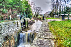 Campbells Lock (rtstewart000) Tags: ireland water river canal closed lock gates walk northernireland disused barge hdr renovated newry scarva poyntzpass d7000 terrystewart terryhoogan