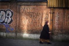 The European dream. Schaerbeek, February 2016. (joelschalit) Tags: brussels women belgium northafrica refugees islam bruxelles maghreb immigrants muslims migration schaerbeek asylumseeker