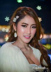 Azfainia Na Ka (krashkraft) Tags: beautiful beauty thailand pretty bangkok gorgeous allrightsreserved 2014 boothbabe motorexpo pakkret krashkraft    changwatnonthaburi fai